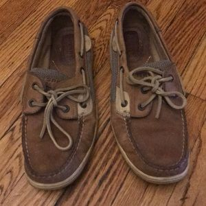 Leather Sperry Topsider Boat Shoes